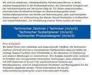 Technischer Zeichner Techniker Technischer Systemplaner