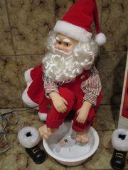 Weihnachtsmann beweglich - ca 55cm hoch