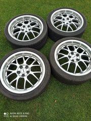 Alufelgen mit Reifen 18 Zoll