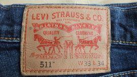 Herrenbekleidung - Levis-Herren Jeans