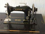 Antike Schranknähmaschine Kayser AG - Kaiserslautern