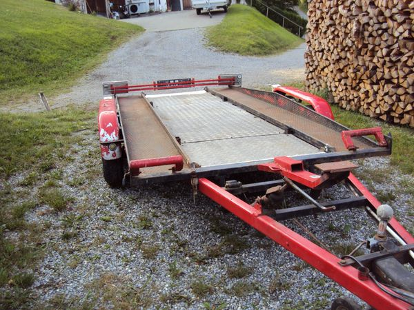 Autotransporter - Anhänger - Tieflader - Autoanhänger -