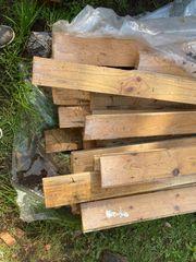 Holz Fußbodenbretter 358 x 10