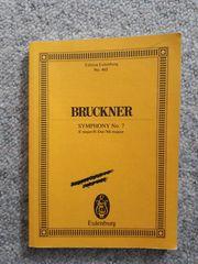 Anton Bruckner Symphony No 7 E-Dur