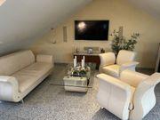 Bretz Leder Couch Tisch und