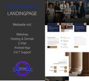 Webseite für Rechtsanwälte Notare Steuerberater