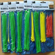 Kabelbinder-Set 5 Packungen je 75-teilig