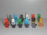 12 Minifiguren Ninjago Goldener Ninja