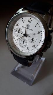 Herrenuhr Chronograph Armbanduhr 24-Std Anzeige