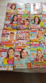 20 topaktuelle moderne Frauenzeitschriften