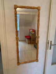 Großer Spiegel aus Holz Unikat