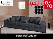 XL-Big Sofa Ceyda 28 cm