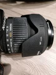 Nikon D 80 mit Metz