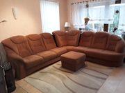 Himolla Sofa mit Hocker
