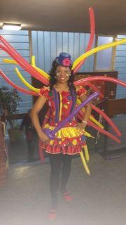 Clown lucy Spaß und Unterhaltung