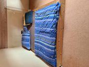 Massivholz Bett 160x220
