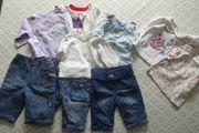 4 Langarmshirt 3 Jeanshosen Hosen