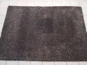 Teppich antrazit 160x230 cm Hochflor