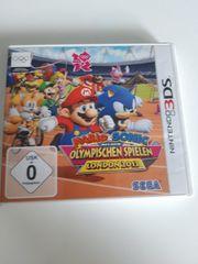 Olympischen Spiele Mario Sonic 3DS