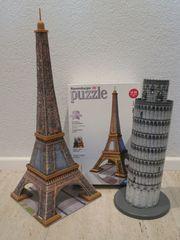 Ravensburger 3D-Puzzle Eiffelturm und Schiefer