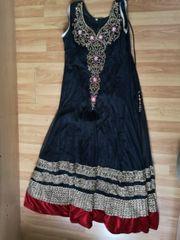 Indische Bollywood Kleidung Anarkali Abendkleid