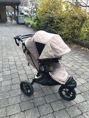Kinderwagen Babyjogger mit Babywanne