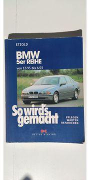 BMW E39 5er Handbuch So