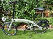 e - Bike Klapprad-Faltrad