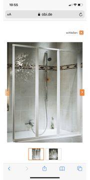 Duscholux Faltwand für Badewannenrand