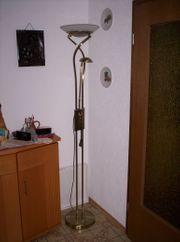 Deckenfluter Stehlampe mit Leseleuchte dimmbar