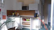 biete möblierte 1-Raum-Wohnung WLAN Fussbodenheizung
