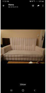 Sofa Couch Wohnlandschaft sessel 2