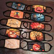 Mundschutz Halloween für Kinder Mundbedeckung