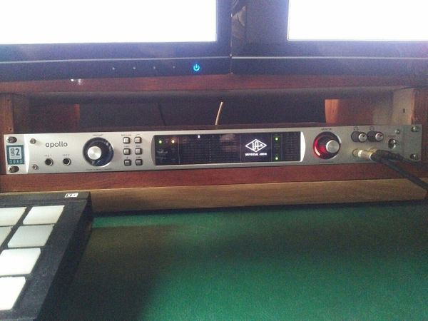 Universal Audio Apollo Firewire Quad