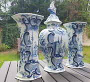 Majolika 3 Delfter Vasen 18