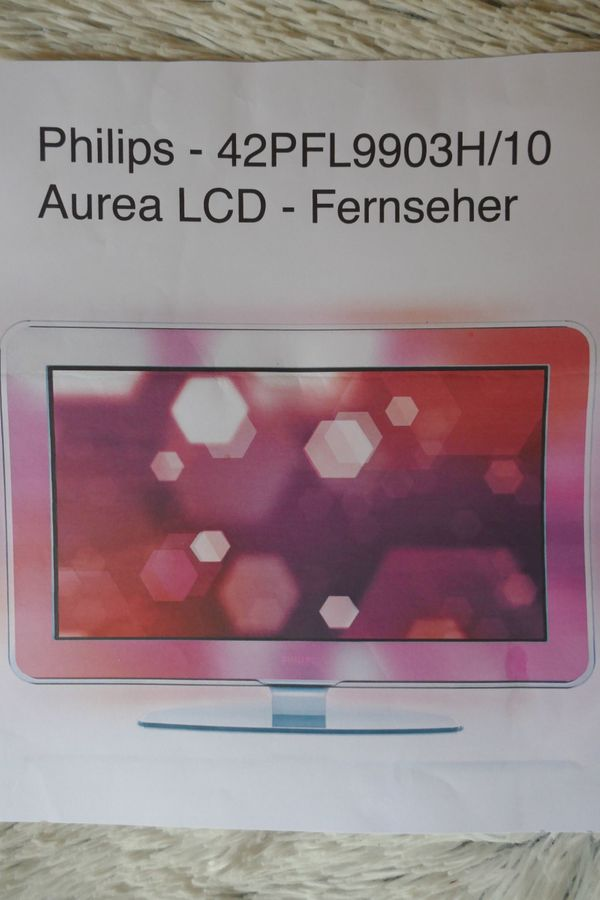 Philips Aurea LCD TV - 42PFL9903H