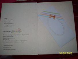 Tauf-Album, Erinnerungsalbum v. Angelina Schulze