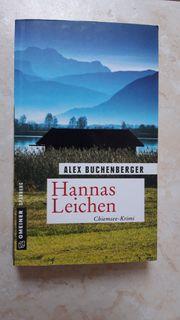 Buchverkauf HANNA S LEICHEN
