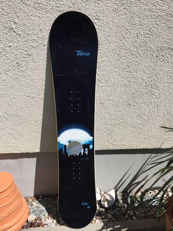 Snowboard Custom made Trans LTd