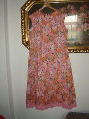 Vintage Sommerkleid - Plissee im Blütenprint