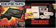 Sega und Super Nintendo
