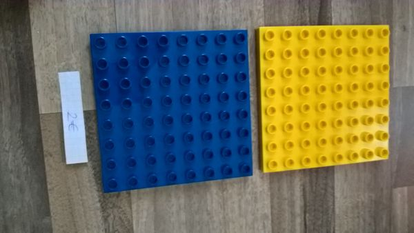 Lego Duplo Bauplatte 8x8 Noppen