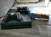 Playstation 4 incl 2 Kontroller