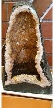 Citrindruse Amethyst Druse aus Brasilien