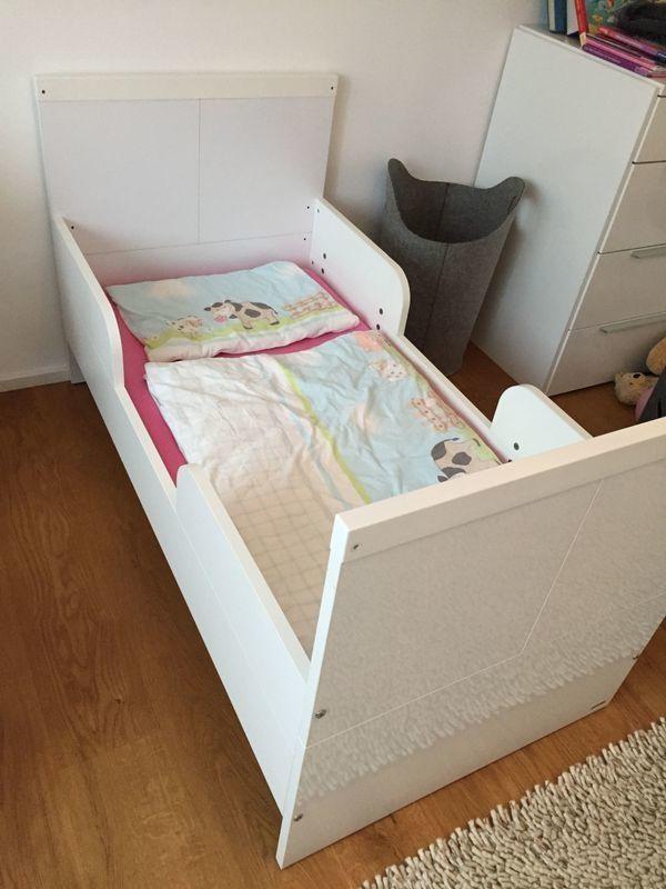Kinder Holzbett Milla inkl Gitter-