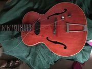 Jazz-Musiker Gitarre oder Bläser für