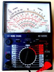 Analog FET Multimeter Hung Chang