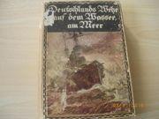 Antiquität Buch Deutschlands Wehr auf