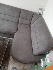 L-Sofa mit Hocker Neu nicht
