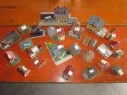 Komplettes Dorf Fachwerk für Modellbahn